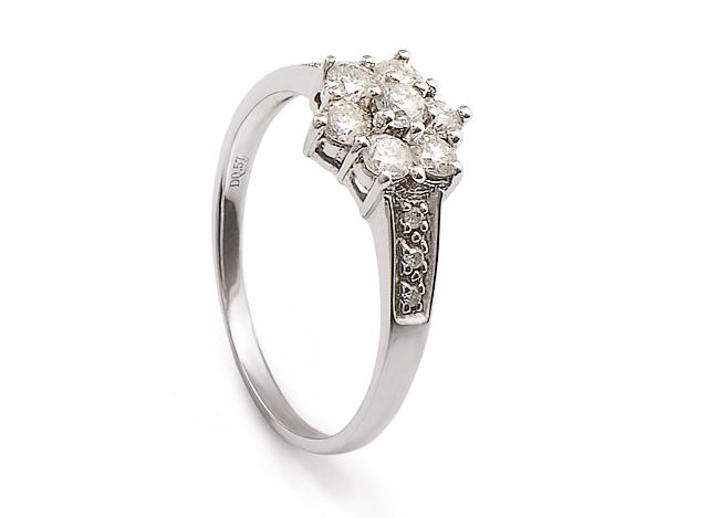 2c9d5660b PRSTEN 6 a 6 BRILIANTŮ | Dstones - šperky pro každou příležitost ...